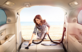 Honda Odyssey Integrated Vacuum