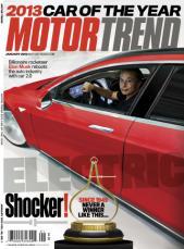 Tesla Model S Motor Trend Car of the Year