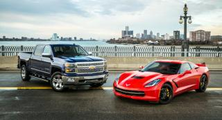 2014 Chevy Silverado and Corvette - Car and Truck of the Year