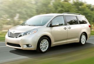 2015 Toyota Sienna - IIHS Top Safety Pick+ Minivan