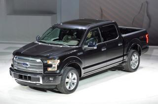 2015 Ford F-150 Aluminum Body