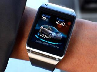 Samsung Galaxy Gear BMW app